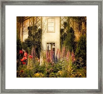 Darwin's Garden Framed Print