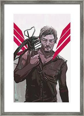 Daryl Dixon Framed Print