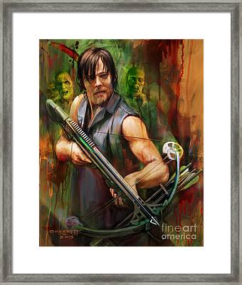 Daryl Dixon Walker Killer Framed Print