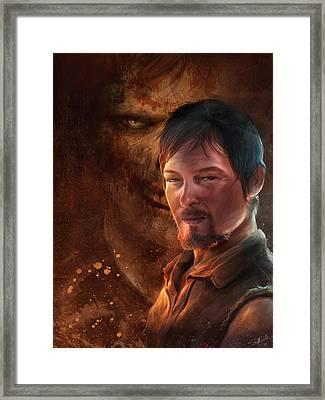 Daryl Framed Print