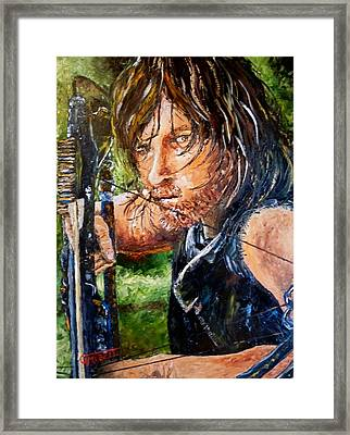 Daryl Framed Print by Terry Campbell