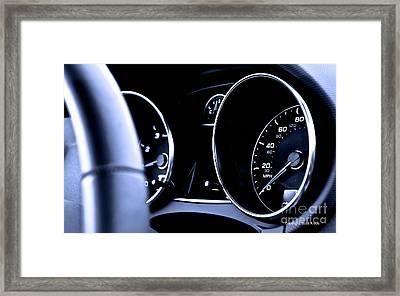 Dash Envy Framed Print by Scott Kraus