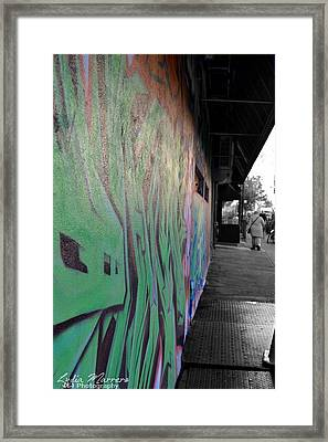 Dash Of Color Framed Print by Lydia Marrero