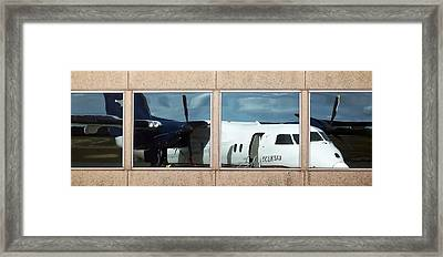 Dash Reflection Framed Print