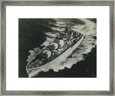 Dashing Daring Framed Print by Retro Images Archive