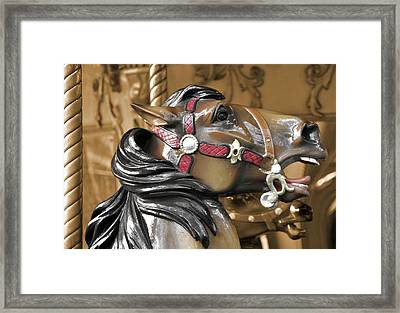 Dashing Horses Framed Print by JAMART Photography