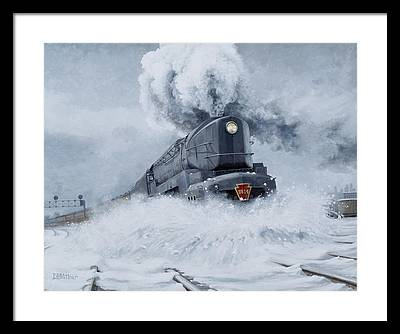 Train Framed Prints