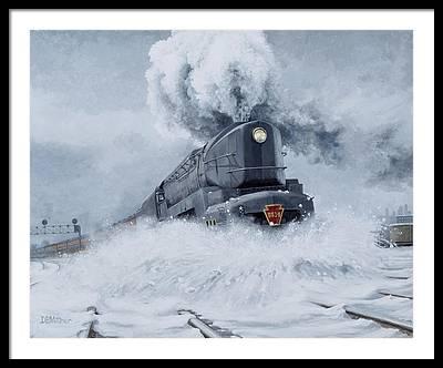 Pennsylvania Railroad Framed Prints