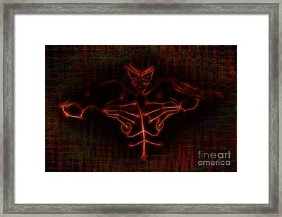 Data Djinn Framed Print