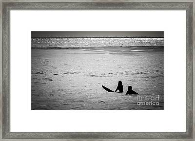 Date Night Framed Print by Amy Fearn