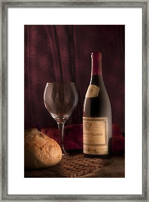 Date Night Still Life Framed Print
