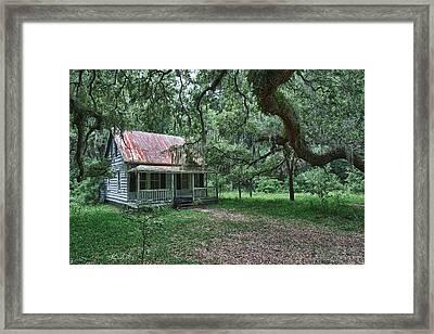 Daufuskie Homestead Framed Print by Renee Sullivan