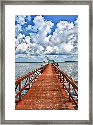 Daufuskie Pier Framed Print