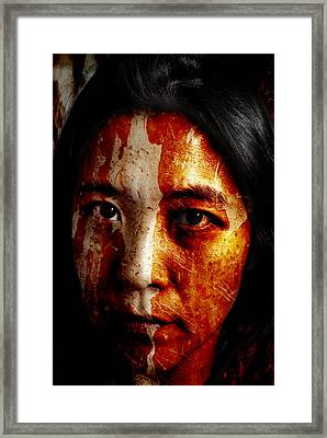 Daughter Of The Trees Framed Print by Christopher Gaston