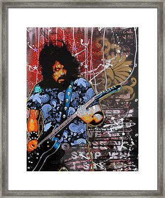 Dave Grohl Framed Print by Gary Kroman
