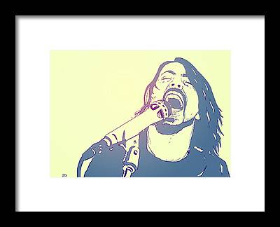 Live Music Framed Prints