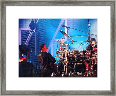 Dave Looks At Carter Framed Print by Aaron Martens