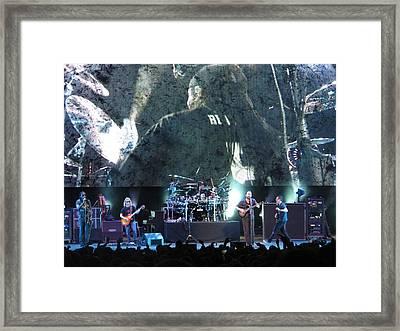Dave Matthews Band Rocks Final Four Weekend Framed Print