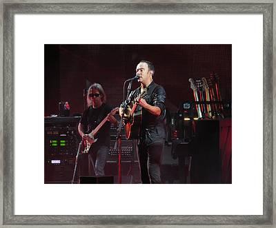 Dave Matthews Live Framed Print