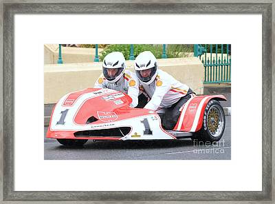 Dave Molyneaux And Carl Ellison Framed Print by Richard Norton Church