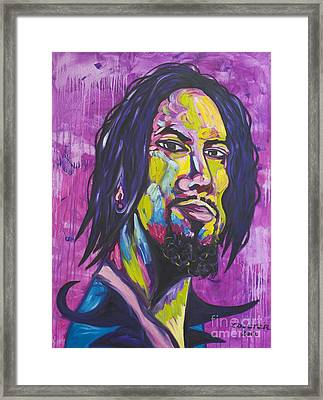 Dave Navarro Framed Print by Coulter  Young