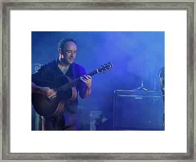Dave's Little Smile Framed Print