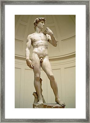 David Framed Print by Michelangelo Buonarroti