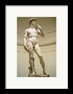 Michelangelo Framed Prints