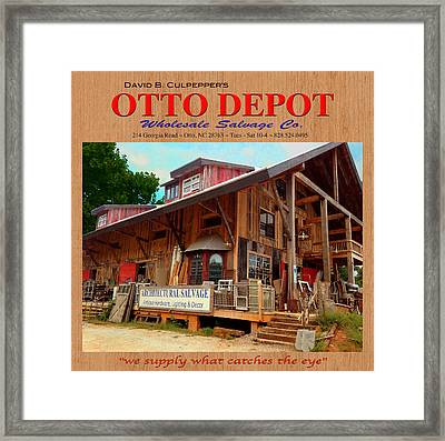 David B. Culpepper's Otto Depot 2 Framed Print