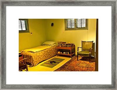 David Ben-gurion - His Bedroom Framed Print