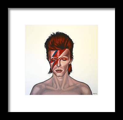 David Bowie Framed Prints