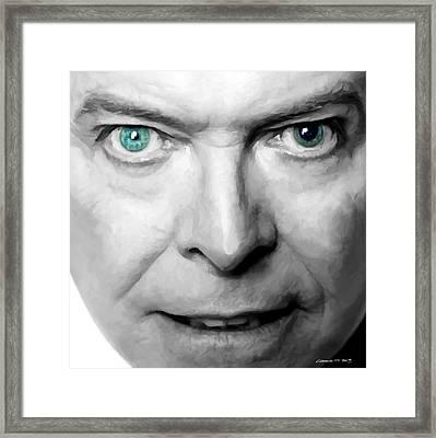 David Bowie In Clip Valentine's Day - 3 Framed Print
