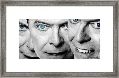 David Bowie In Clip Valentine's Day - 4 Framed Print