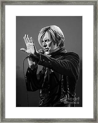 David Bowie In Concert Framed Print
