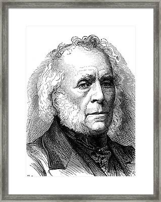 David Brewster Framed Print by Collection Abecasis