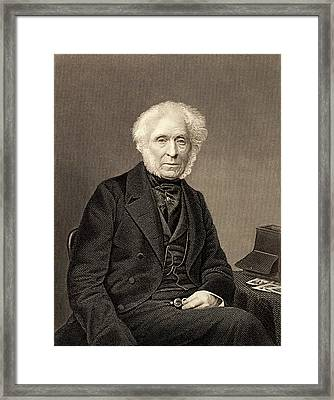 David Brewster Framed Print by Universal History Archive/uig