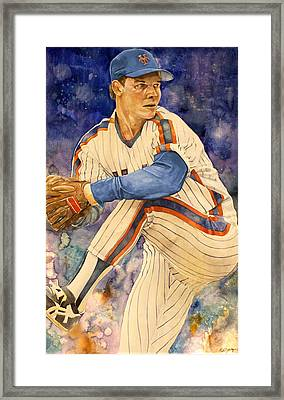 David Cone Framed Print by Michael  Pattison