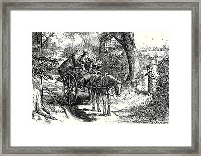 David Copperfield I Saw To My Amazement Peggotty Burst Framed Print