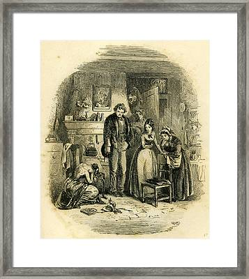 David Copperfield Martha Framed Print