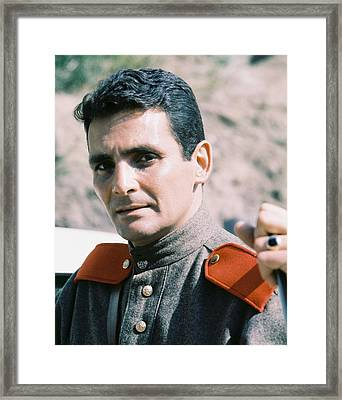 David Hedison In Voyage To The Bottom Of The Sea  Framed Print