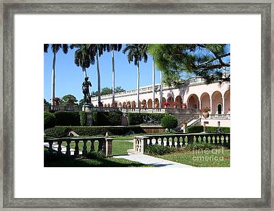 David In The Museums Garden Framed Print by Christiane Schulze Art And Photography