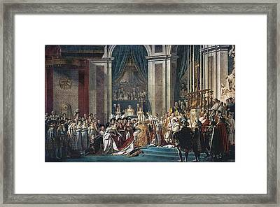 David, Jacques-louis 1748-1825. The Framed Print