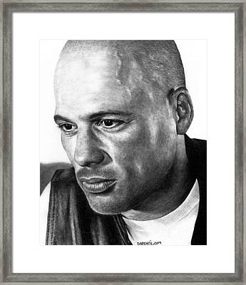 David Labrava As Happy Framed Print