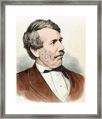 David Livingstone (1813-1873 Framed Print by Prisma Archivo