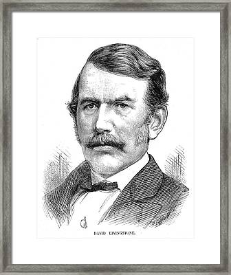 David Livingstone Framed Print by Collection Abecasis