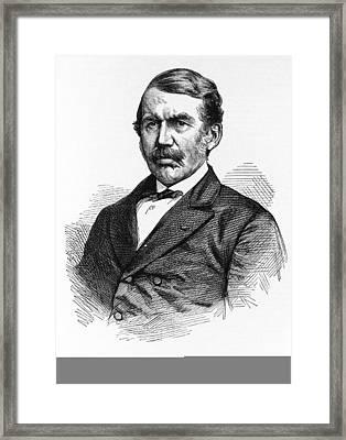 David Livingstone, Scottish Explorer Framed Print by Science Photo Library