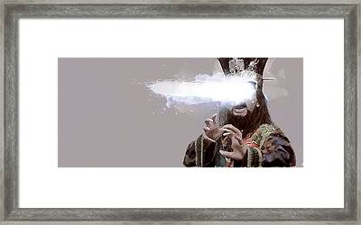 David Lo Pan Framed Print by Kurt Ramschissel