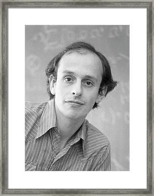 David Politzer Framed Print by Emilio Segre Visual Archives/american Institute Of Physics