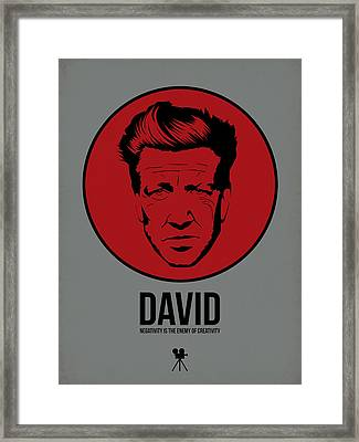 David Poster 1 Framed Print by Naxart Studio