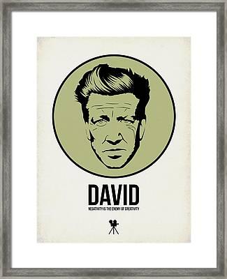 David Poster 2 Framed Print by Naxart Studio